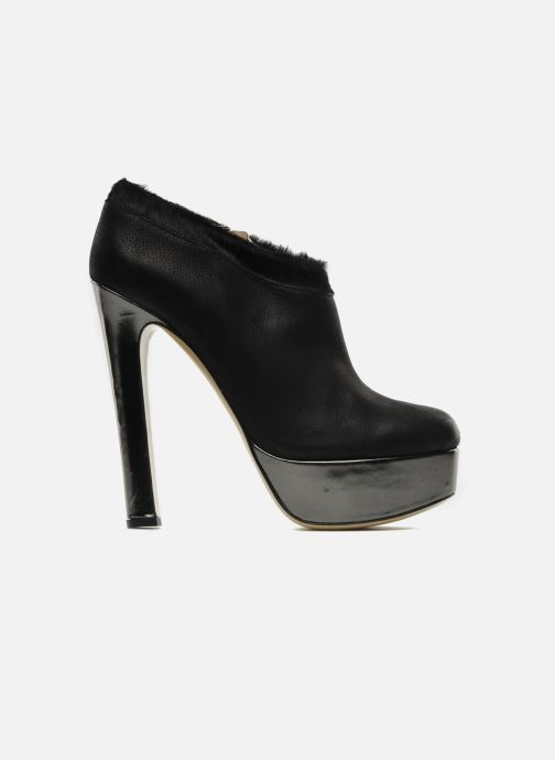 Ankelstøvler De Siena shoes Amalia Sort se bagfra