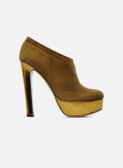 Ankle boots De Siena shoes Amalia Beige back view