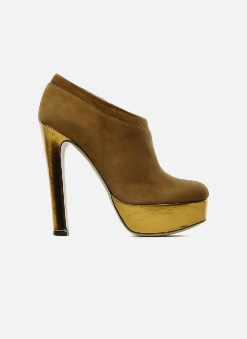 Botines  De Siena shoes Amalia Beige vistra trasera