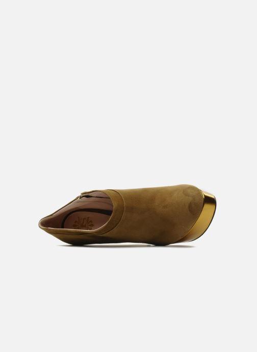 Botines  De Siena shoes Amalia Beige vista lateral izquierda