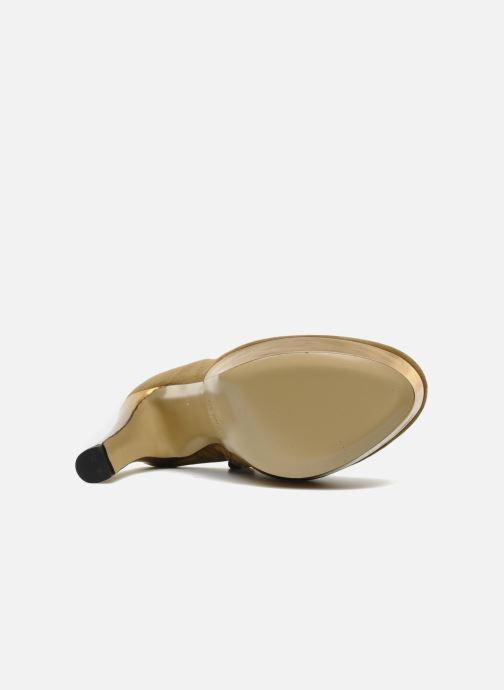Botines  De Siena shoes Amalia Beige vista de arriba