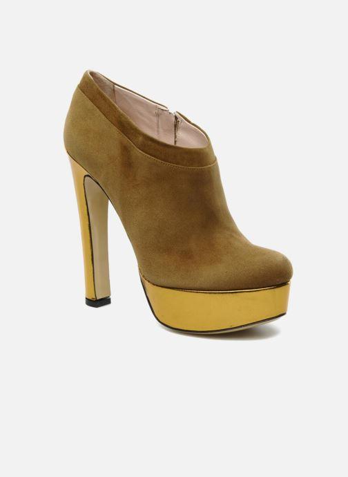 Bottines et boots De Siena shoes Amalia Beige vue détail/paire