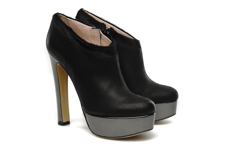 Boots De Siena shoes Amalia Svart 3/4 bild