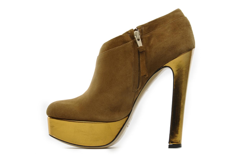 Boots De Siena shoes Amalia Beige bild från framsidan