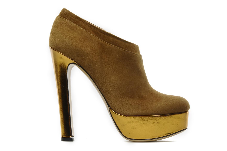 Boots De Siena shoes Amalia Beige bild från baksidan