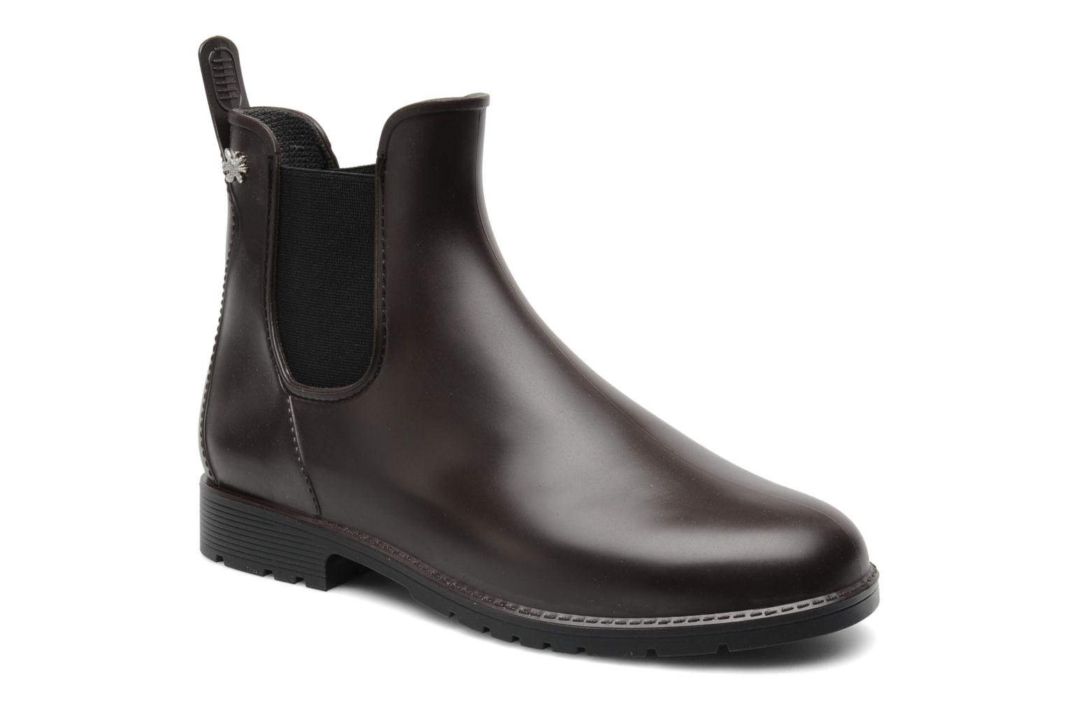 Ankle boots Méduse Jumpy Brown detailed view/ Pair view