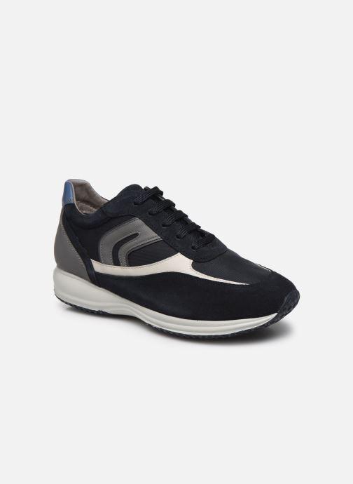 Chaussures à lacets Geox UOMO HAPPY Bleu vue détail/paire