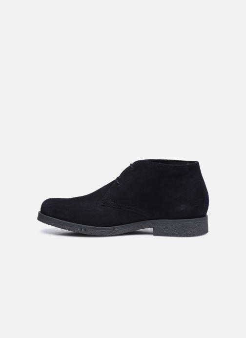 Zapatos con cordones Geox UOMO CLAUDIO Azul vista de frente