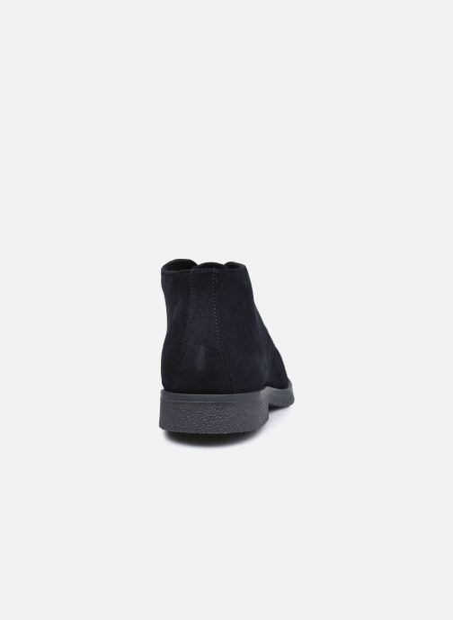 Zapatos con cordones Geox UOMO CLAUDIO Azul vista lateral derecha