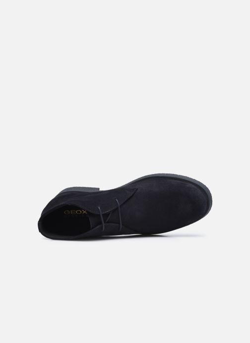 Zapatos con cordones Geox UOMO CLAUDIO Azul vista lateral izquierda