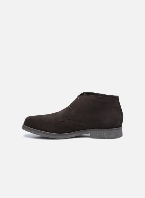 Zapatos con cordones Geox UOMO CLAUDIO Marrón vista de frente