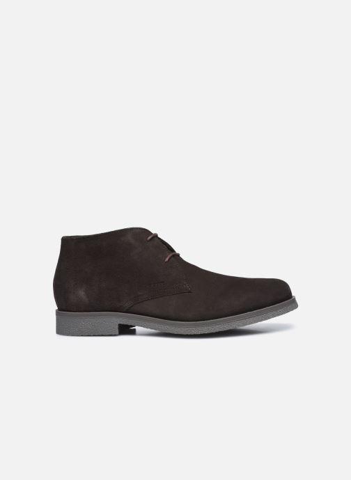 Zapatos con cordones Geox UOMO CLAUDIO Marrón vistra trasera