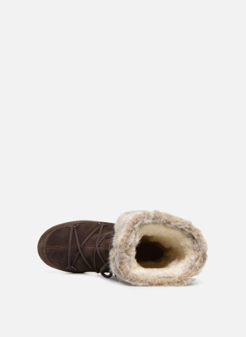 Stiefel Moon Boot Butter 2 braun ansicht von links
