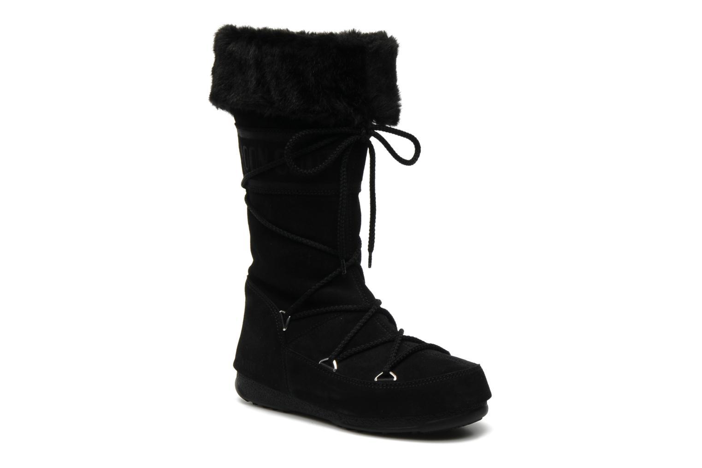 Moon Boot Butter 2 (Noir) - Bottes en Más cómodo Dernières chaussures discount pour hommes et femmes
