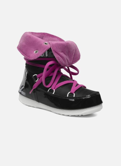 Sport shoes Moon Boot Sugar Black 3/4 view