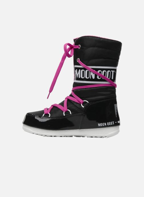 Sportschuhe Moon Boot Sugar schwarz ansicht von vorne