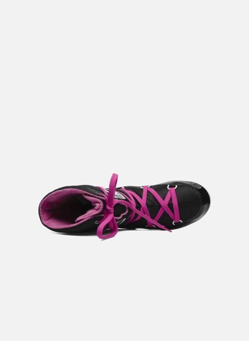 Sportschuhe Moon Boot Sugar schwarz ansicht von links