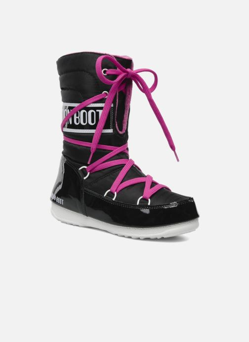 Sportschuhe Moon Boot Sugar schwarz detaillierte ansicht/modell