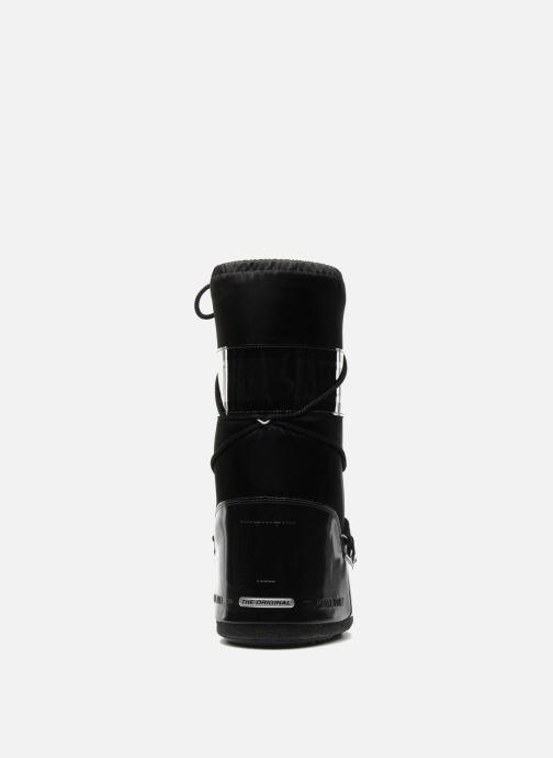 Zapatillas de deporte Moon Boot Glance Negro vista lateral derecha