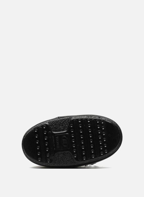 Sportschuhe Moon Boot Glance schwarz ansicht von oben