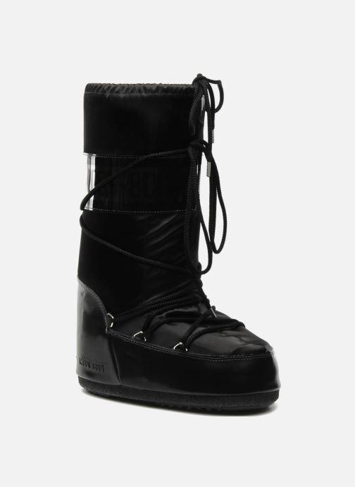 Sportssko Moon Boot Glance Sort detaljeret billede af skoene