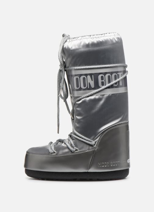 Sport shoes Moon Boot Glance Silver front view
