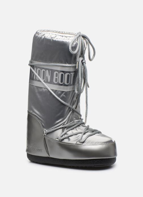 Chaussures de sport Moon Boot Glance Argent vue détail/paire