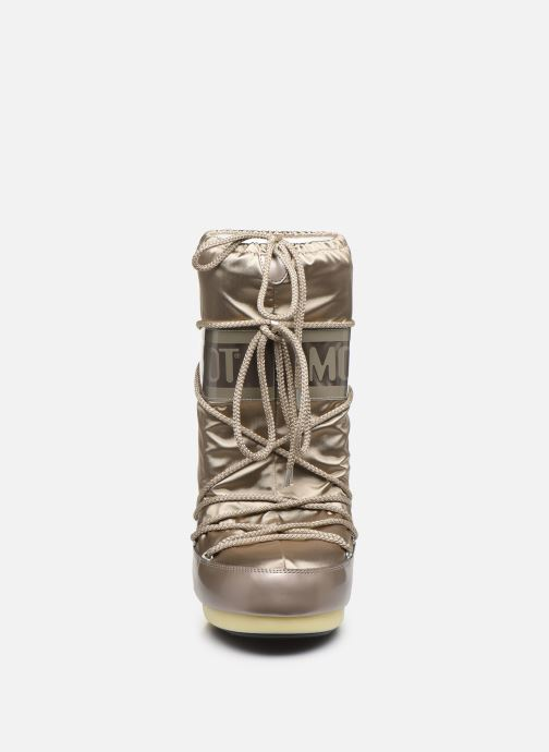Sport shoes Moon Boot Glance Bronze and Gold model view