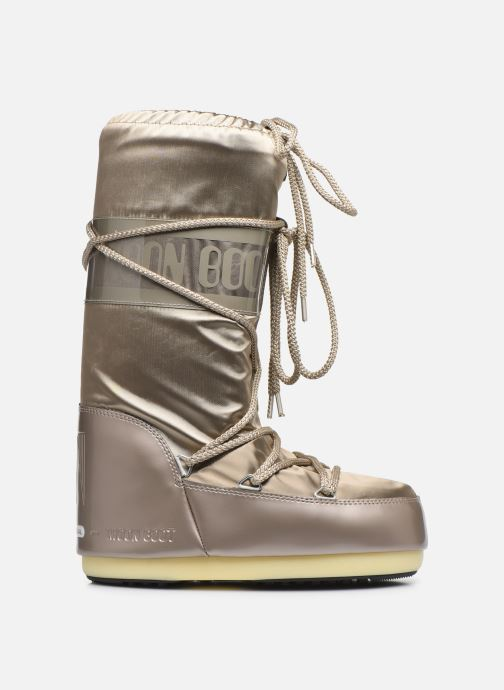 Sport shoes Moon Boot Glance Bronze and Gold back view