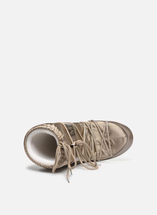 Zapatillas de deporte Moon Boot Glance Oro y bronce vista lateral izquierda