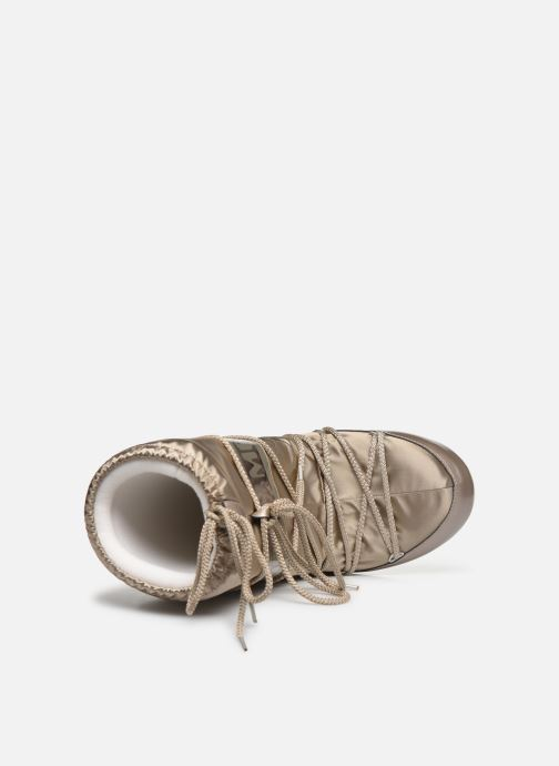 Sport shoes Moon Boot Glance Bronze and Gold view from the left