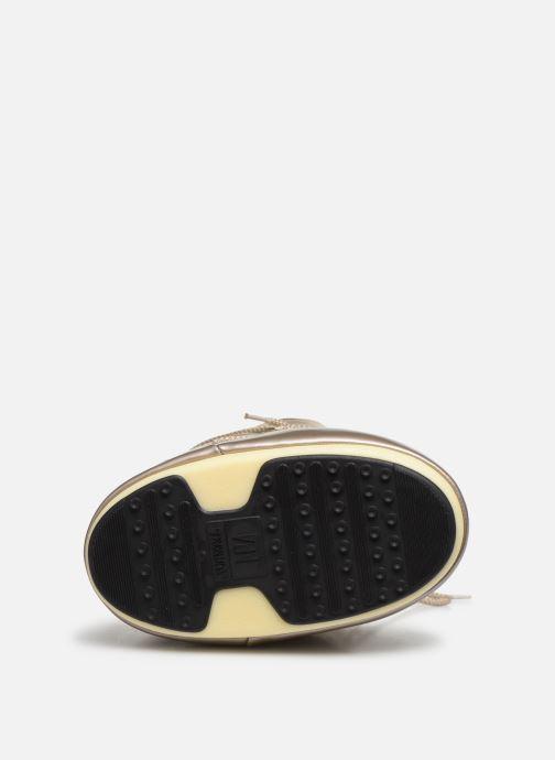 Zapatillas de deporte Moon Boot Glance Oro y bronce vista de arriba