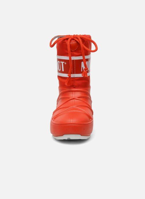Scarpe sportive Moon Boot Moon Boot Pod Jr Rosso modello indossato