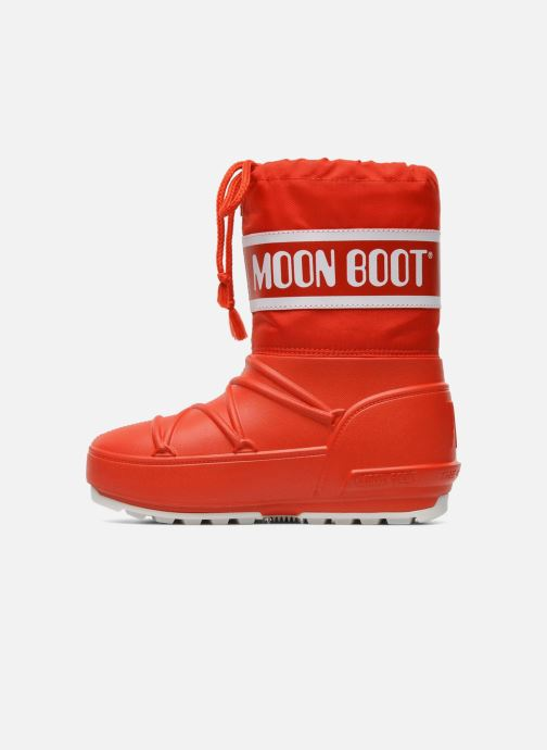 Scarpe sportive Moon Boot Moon Boot Pod Jr Rosso immagine frontale