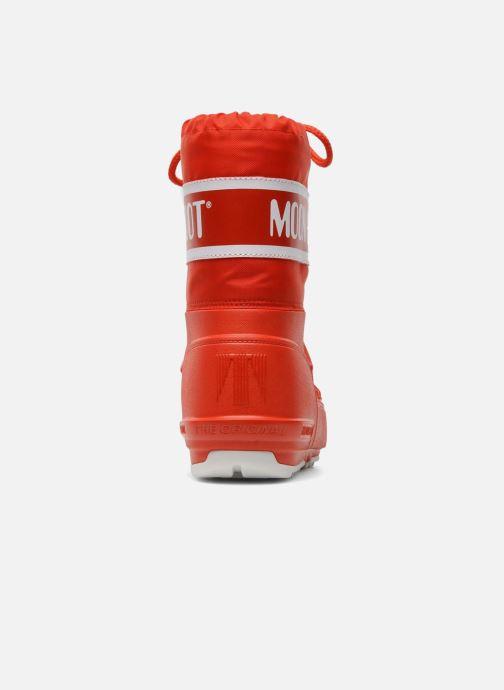 Scarpe sportive Moon Boot Moon Boot Pod Jr Rosso immagine destra