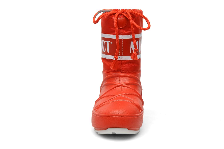 Chaussures de sport Moon Boot Moon Boot Pod Jr Rouge vue portées chaussures