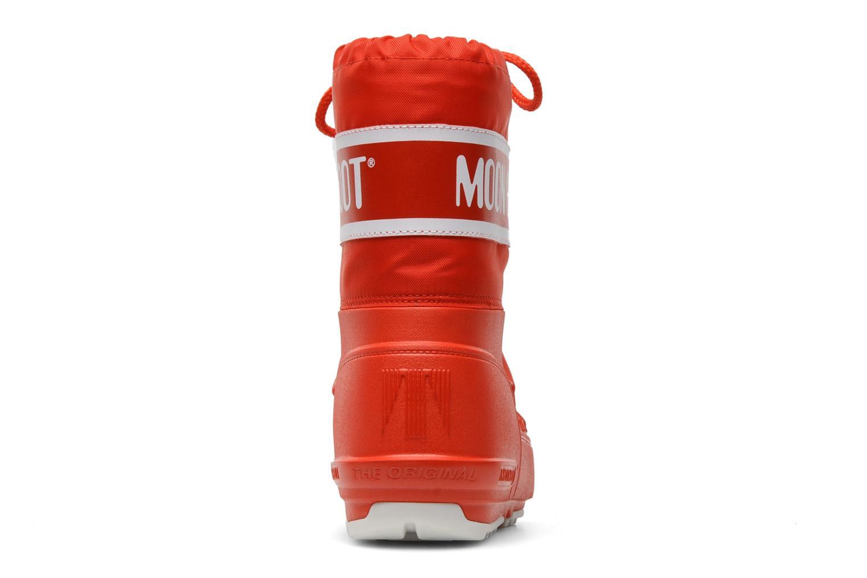 Chaussures de sport Moon Boot Moon Boot Pod Jr Rouge vue droite