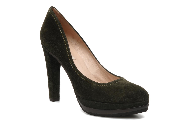 Pura Lopez Alicante (Vert) - Escarpins en Más cómodo Chaussures casual sauvages
