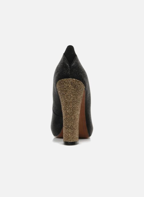 Zapatos de tacón Sam Edelman FRANCES Negro vista lateral derecha
