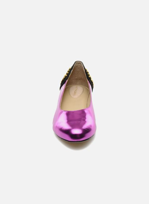 black Maconie Mirror Purple Suede Kat Cecilia n1ORxqRp