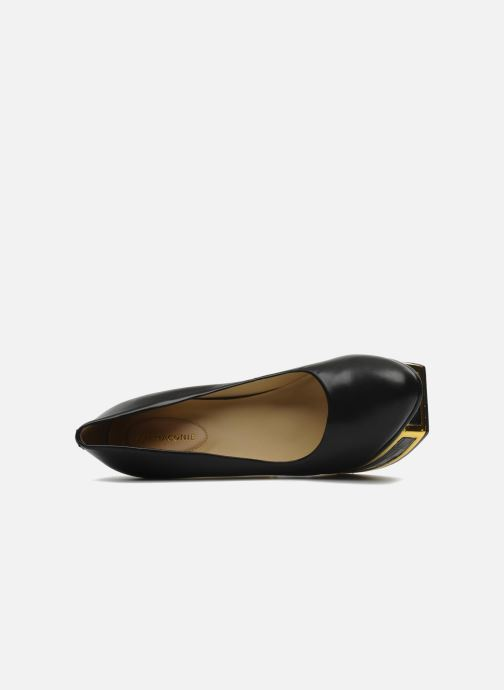 Zapatos de tacón Kat Maconie VALERIE Negro vista lateral izquierda