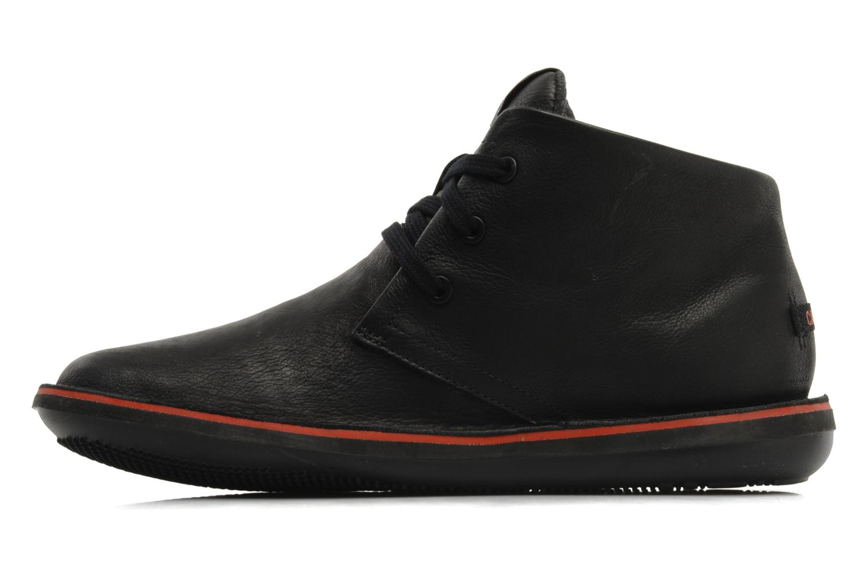 Chaussures à lacets Camper Beetle 36530 Noir vue face