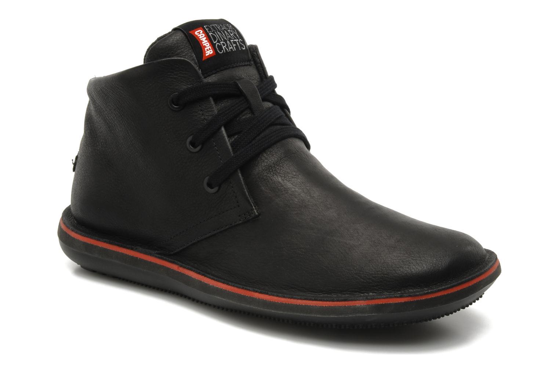 Chaussures à lacets Camper Beetle 36530 Noir vue détail/paire