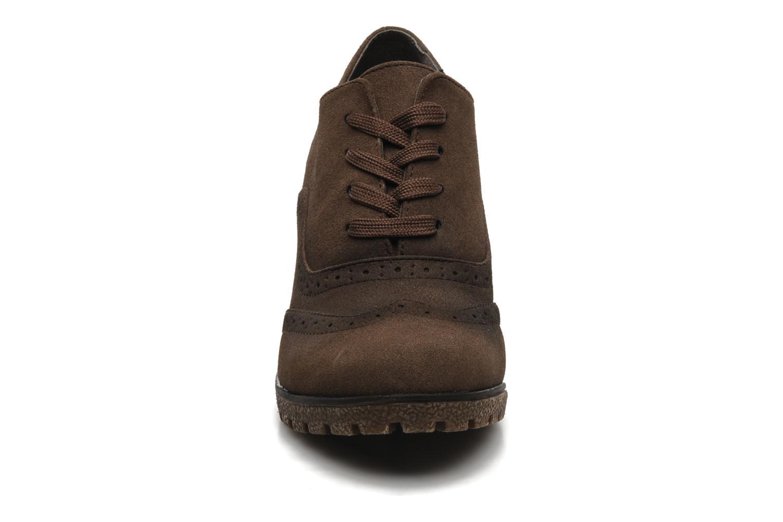 Chaussures à lacets I Love Shoes Sugolf Marron vue portées chaussures
