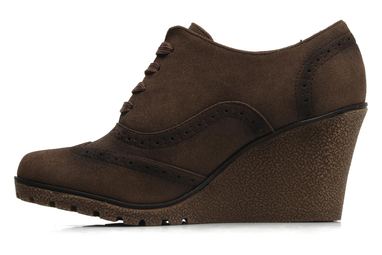 Chaussures à lacets I Love Shoes Sugolf Marron vue face