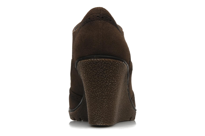 Chaussures à lacets I Love Shoes Sugolf Marron vue droite