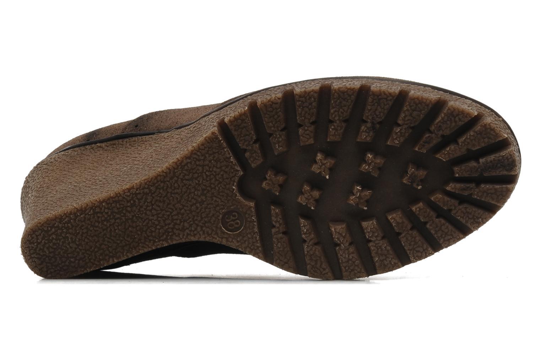 Chaussures à lacets I Love Shoes Sugolf Marron vue haut