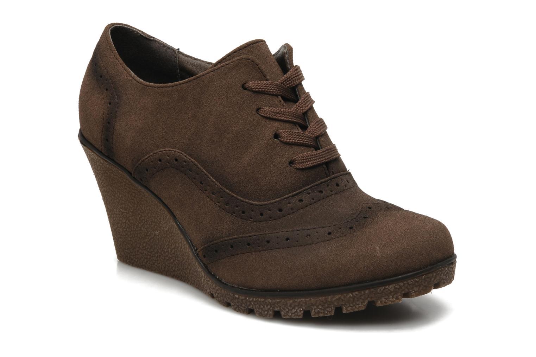 Chaussures à lacets I Love Shoes Sugolf Marron vue détail/paire