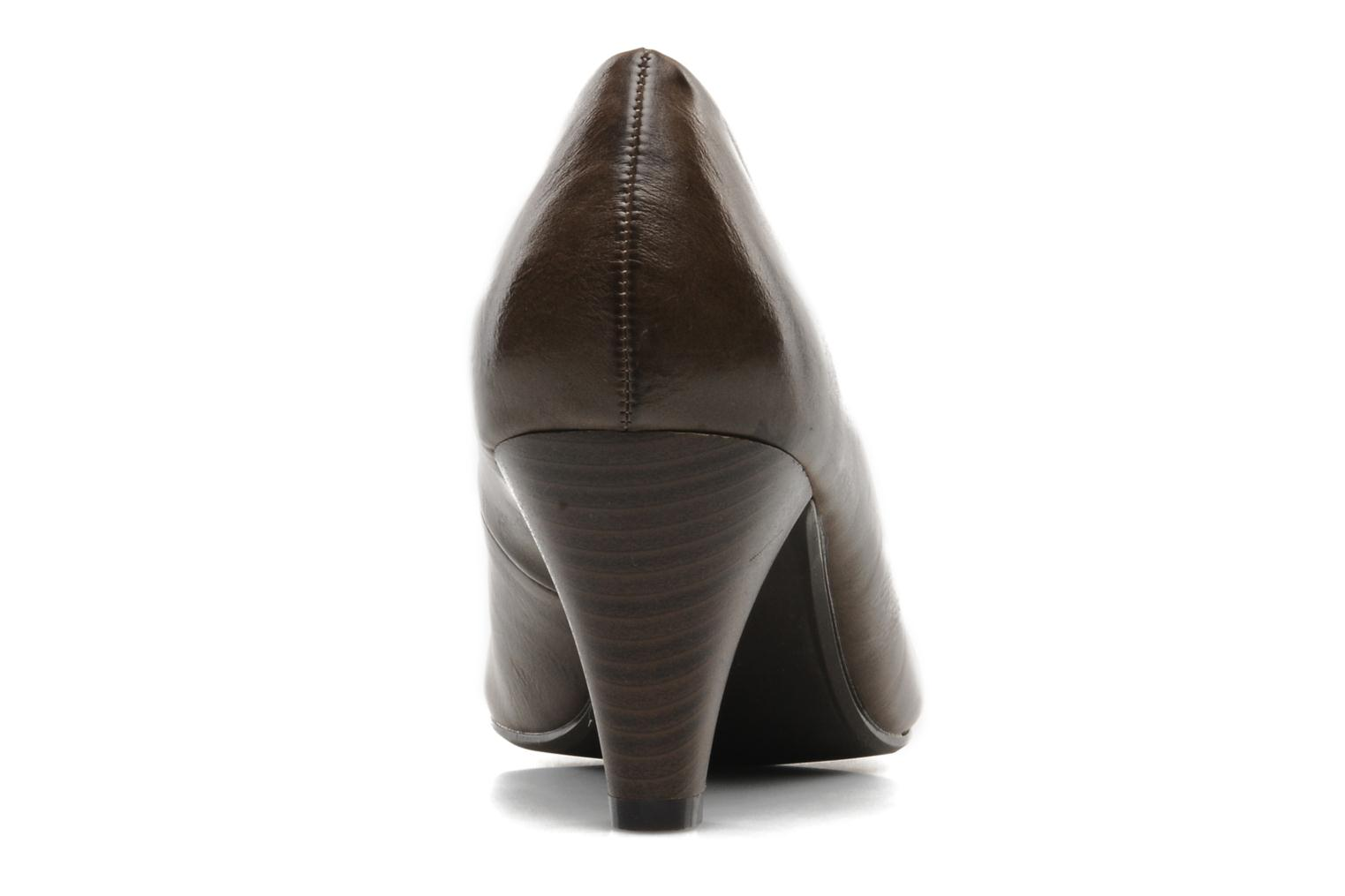High heels I Love Shoes Supin Brown view from the right