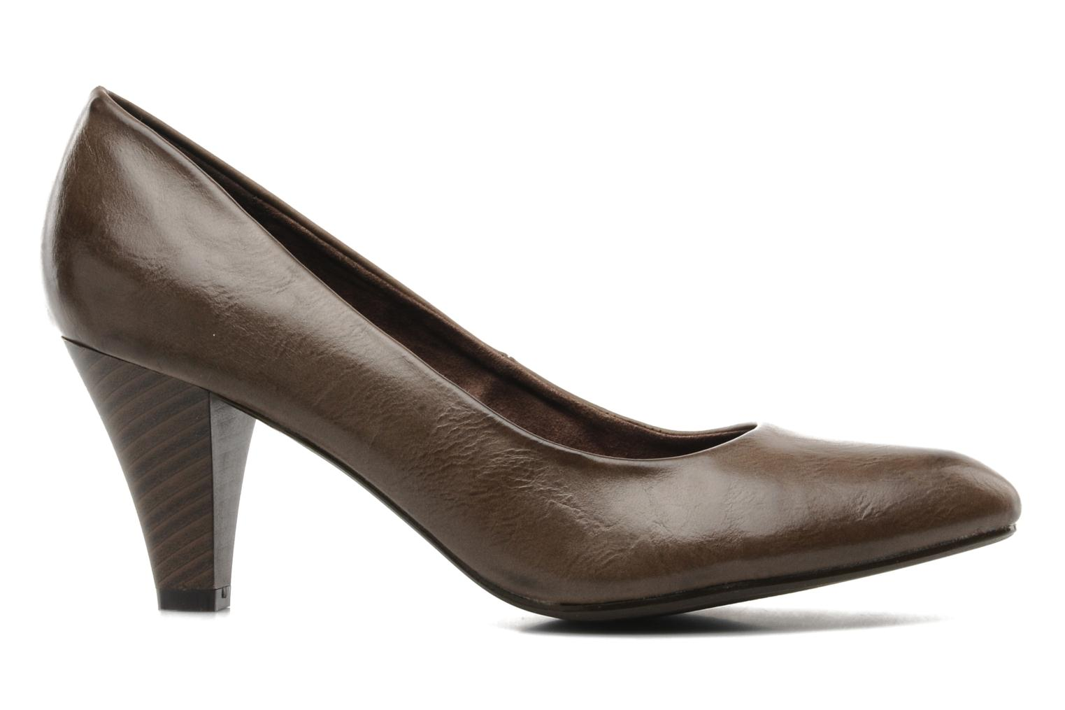 High heels I Love Shoes Supin Brown back view